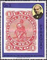 [The 100th Anniversary of the Death of Rowland Hill, 1795-1879 - Paraguay Stamps, type CEB]