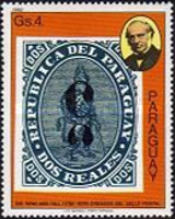 [The 100th Anniversary of the Death of Rowland Hill, 1795-1879 - Paraguay Stamps, type CEC]