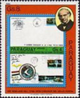 [The 100th Anniversary of the Death of Rowland Hill, 1795-1879 - Paraguay Stamps, type CEG]