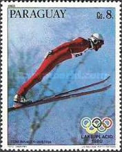 [Medal Winners of Winter Olympic Games - Lake Placid, USA, Typ CER]