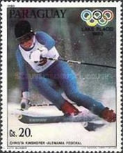 [Medal Winners of Winter Olympic Games - Lake Placid, USA, type CES]