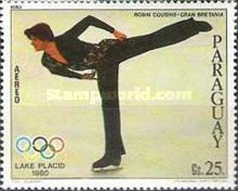 [Airmail - Medal Winners of Winter Olympic Games - Lake Placid, USA, Typ CEU]