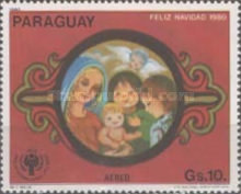 [Airmail - Christmas and International Year of the Child, Typ CFO]