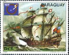 [International Stamp Exhibition - Ship Paintings, type CFU]