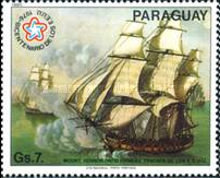 [International Stamp Exhibition - Ship Paintings, type CFV]