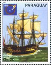 [International Stamp Exhibition - Ship Paintings, type CFX]