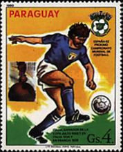 [Football World Cup - Spain (1982) - Previous Winners, Typ CGF]