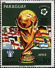 [Airmail - Football World Cup - Spain (1982) - Previous Winners, Typ CGL]