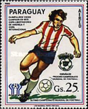 [Airmail - Football World Cup - Spain (1982) - Previous Winners, Typ CGM]