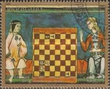 [Airmail - Chess Olympiad, Malta - Chess Miniatures, Typ CGS]