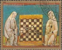 [Airmail - Chess Olympiad, Malta - Chess Miniatures, Typ CGU]