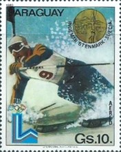 [Airmail - Winners of Winter Olympic Games - Lake Placid, USA (1980), Typ CHM]