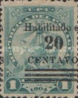 [Issue of 1905-1908 Surcharged, type CI]