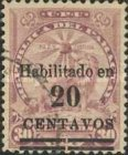 [Issue of 1905-1908 Surcharged, type CI4]