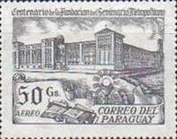 [Airmail - The 100th Anniversary of Metropolitan Seminary, Asuncion, type CID]