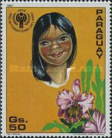 [International Year of the Child - Flowers, Typ CIG]