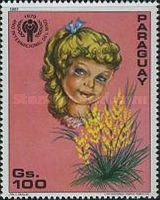 [International Year of the Child - Flowers, Typ CIH]