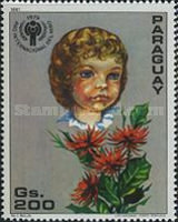[International Year of the Child - Flowers, Typ CII]