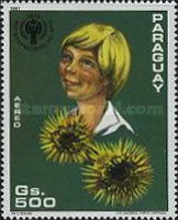 [Airmail - International Year of the Child - Flowers, Typ CIL]