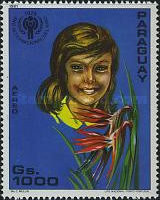 [Airmail - International Year of the Child - Flowers, Typ CIM]