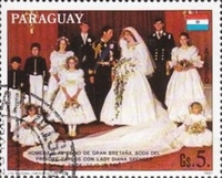 [Airmail - Wedding of Prince Charles and Lady Diana Spencer, Typ CLN]