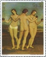 [The 500th Anniversary of the Birth of Raphael, 1483-1520, Typ COR]