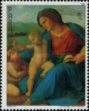 [The 500th Anniversary of the Birth of Raphael, 1483-1520 - Christmas, Typ COW]