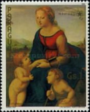 [The 500th Anniversary of the Birth of Raphael, 1483-1520 - Christmas, Typ COX]