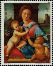 [The 500th Anniversary of the Birth of Raphael, 1483-1520 - Christmas, Typ COY]
