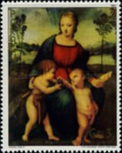 [The 500th Anniversary of the Birth of Raphael, 1483-1520 - Christmas, Typ COZ]