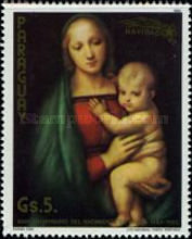 [The 500th Anniversary of the Birth of Raphael, 1483-1520 - Christmas, Typ CPB]