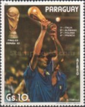 [Airmail - Winners of Football World Cup - Spain, Typ CPD]