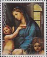 [Airmail - The 500th Anniversary of the Birth of Raphael, 1483-1520 - Christmas, Typ CPR]