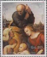 [Airmail - The 500th Anniversary of the Birth of Raphael, 1483-1520 - Christmas, Typ CPT]