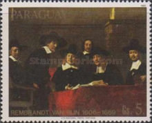 [Airmail - Paintings by Rembrandt, Typ CQG]