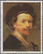 [Airmail - Paintings by Rembrandt, Typ CQH]