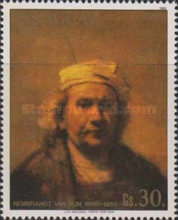 [Airmail - Paintings by Rembrandt, Typ CQI]