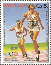 [Airmail - Olympic Games - Los Angeles, USA 1984, Typ CRL]