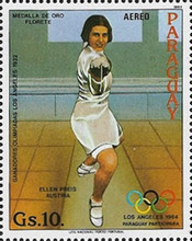 [Airmail - Olympic Games - Los Angeles, USA 1984, Typ CRM]