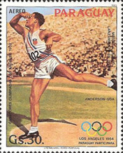 [Airmail - Olympic Games - Los Angeles, USA 1984, Typ CRN]