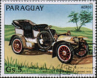 [Airmail - Old Automobiles, Typ CRW]