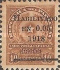 [Issue of 1881 Overprinted