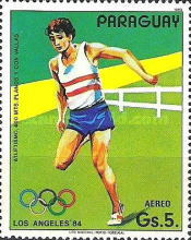 [Airmail - Olympic Games - Los Angeles, USA 1984, Typ CUU]