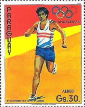 [Airmail - Olympic Games - Los Angeles, USA 1984, Typ CUW]
