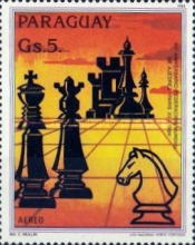 [Airmail - The 60th Anniversary of International Chess Association, Typ CWU]