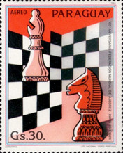 [Airmail - The 60th Anniversary of International Chess Association, Typ CWW]