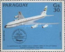 [Airmail - The 50th Anniversary of the First Direct Flight from Europe to South America by Lufthansa, Typ CXO]