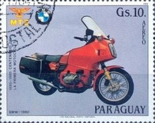 [Airmail - The 100th Anniversary of Motorcycles, Typ CYQ]