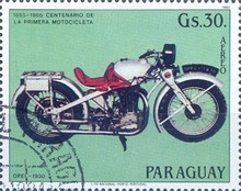 [Airmail - The 100th Anniversary of Motorcycles, Typ CYR]