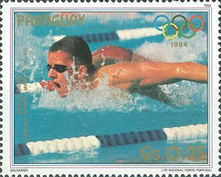 [Winners of the Summer Olympic Games - Los Angeles, USA 1984, Typ CYW]
